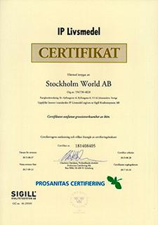 Certifikat-IP-Livsmedel